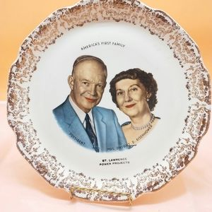 America's First Family Decorative Plate